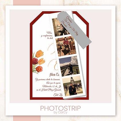 Invitación Photostrip