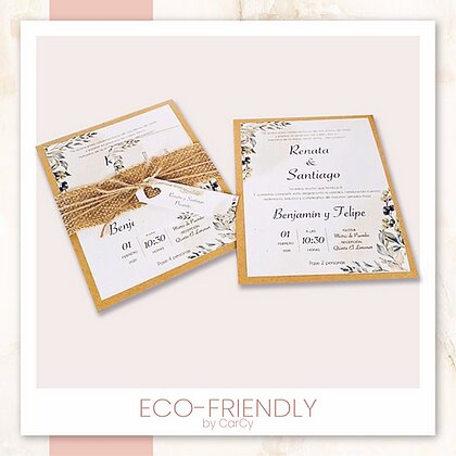 Invitación Eco-Friendly