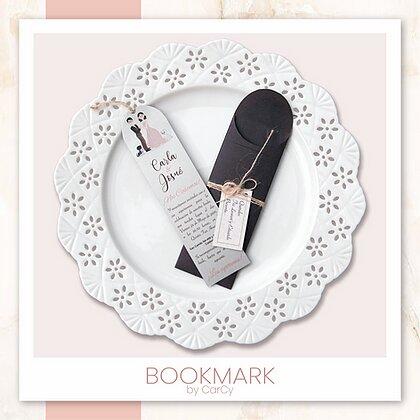 Invitación Bookmark
