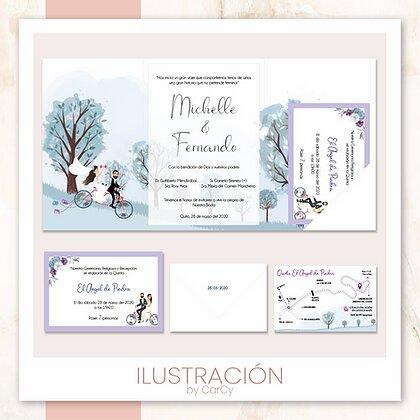 Invitación Ilustración